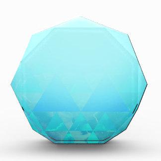 Abstract Geometry Acrylic Award