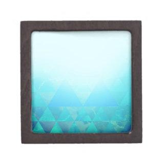 Abstract Geometry Jewelry Box