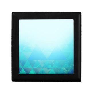 Abstract Geometry Keepsake Box