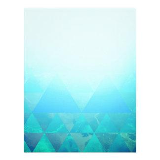 Abstract Geometry Letterhead