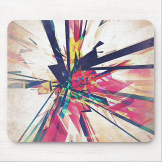 Abstract Geometry Mouse Pad