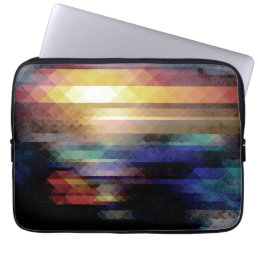 Abstract Geometry of Colors Computer Sleeve