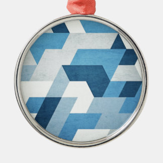 Abstract Geometry Christmas Ornaments