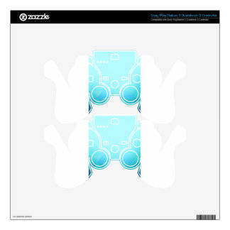 Abstract Geometry Skin For PS3 Controller