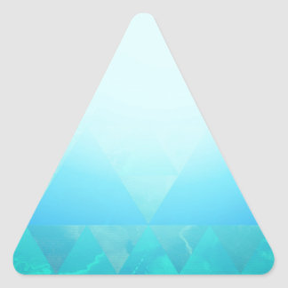 Abstract Geometry Triangle Sticker