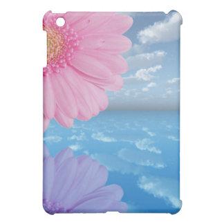 Abstract Gerbera Daisies Sky & Ocean iPad Case