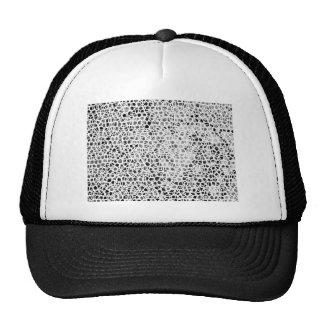 Abstract Giraffe Mesh Hat