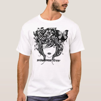 abstract-girl-with-butterflies-thumb2263934, ma... T-Shirt