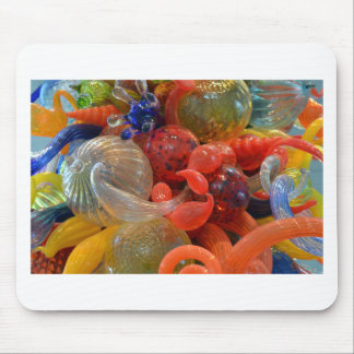 Abstract Glass Art Mouse Pad