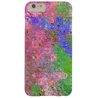 ABSTRACT/GLASS BLOCK EFFECT/PINK,BLUE, GREEN BARELY THERE iPhone 6 PLUS CASE