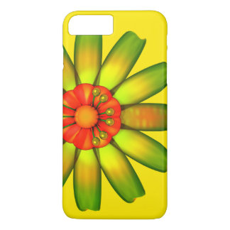 Abstract Glass Flower. iPhone 7 Plus Case