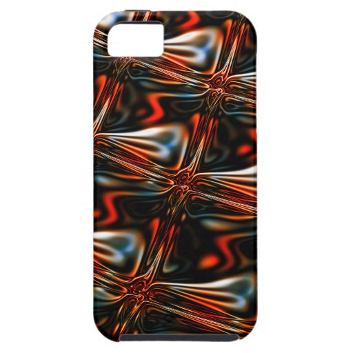Abstract glass reflection iPhone SE/5/5s case