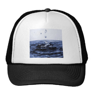 Abstract Glass Water Trucker Hat