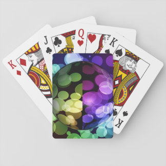 Abstract Globe Playing Cards