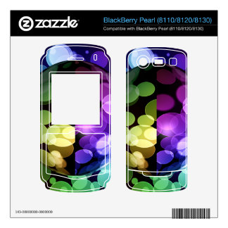 Abstract Globe BlackBerry Decals