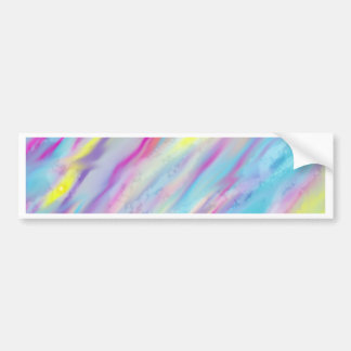 Abstract Glory Bumper Sticker