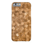 Abstract Gold Copper Background iPhone 6 Case