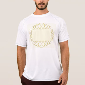 abstract gold frame T-Shirt
