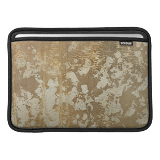 Abstract Gold Painting with Silver Speckles MacBook Sleeve