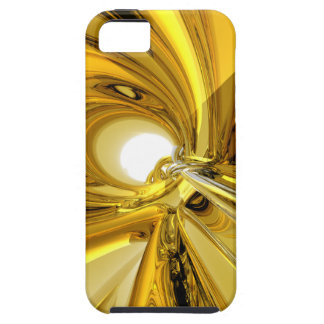Abstract Gold Rings iPhone 5 Cover