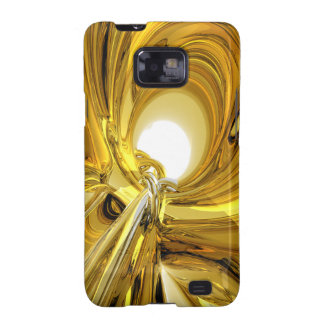 Abstract Gold Rings Samsung Galaxy S2 Cover