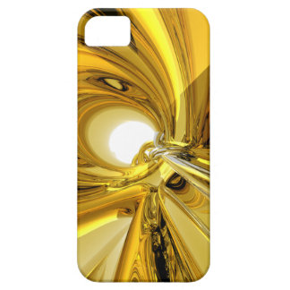 Abstract Gold Rings iPhone 5 Covers