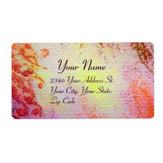Glam Gold Shipping Labels | Zazzle