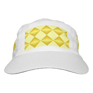 Abstract golden diamond Headsweats Performance Hat