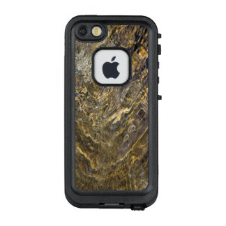 Abstract Golden Fountain Water 2 LifeProof® FRĒ® iPhone 5 Case