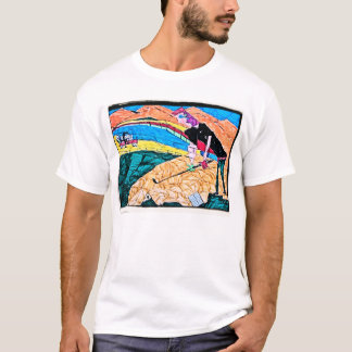 abstract golf color T-Shirt