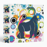Abstract Gorilla Binder