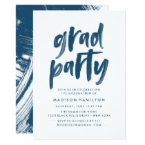 Abstract | Graduation Party Invitation