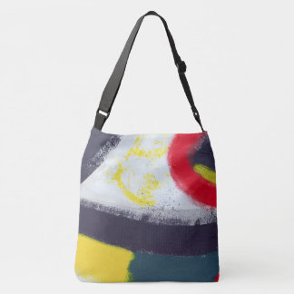 Abstract Graffiti Art from the East Side Gallery Crossbody Bag