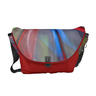 Abstract Graffiti Courier Bag