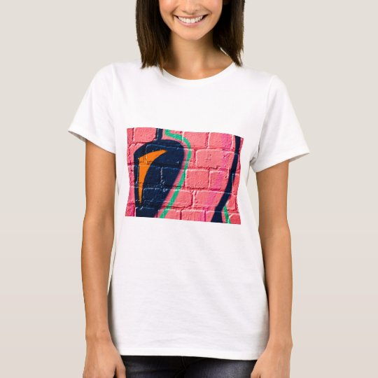 Abstract Graffiti detail on the textured wall T-Shirt