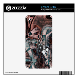 Abstract graffiti iPhone 4S decal