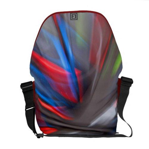 Abstract Graffiti Commuter Bag