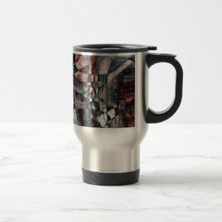 Abstract graffiti coffee mugs