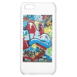 Abstract Graffiti on the Textured Brick Wall iPhone 5C Covers