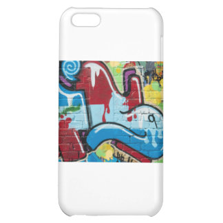 Abstract Graffiti on the textured Brick Wall iPhone 5C Cover