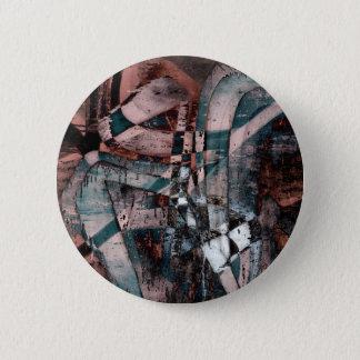 Abstract graffiti pinback button