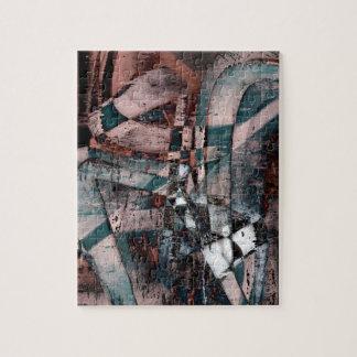 Abstract graffiti jigsaw puzzle