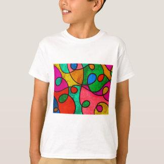 Abstract Graffiti Rainbow Swirls T-Shirt