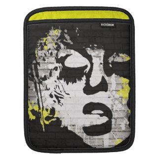 Abstract/graffiti Rickshaw ipad sleeve