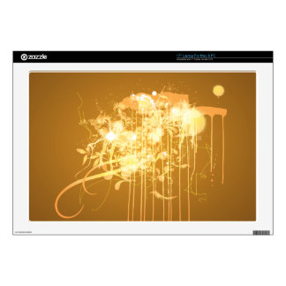 """Abstract graffiti skin for 17"""" laptop"""