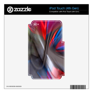 Abstract Graffiti Skin For iPod Touch 4G