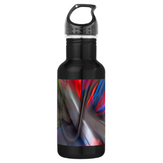 Abstract Graffiti Stainless Steel Water Bottle
