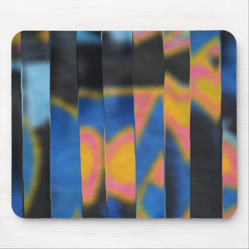 Abstract graffitis mouse pad
