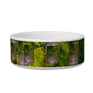 Abstract Grapes 1 Cat Food Bowl