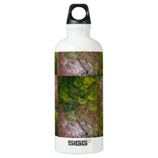 Abstract Grapes Aluminum Water Bottle